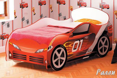 Кровать-машина для мальчика Омега-12 ЛДСП