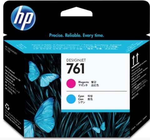 Оригинальная печатающая головка HP CH646A 761 пурпурная/голубая