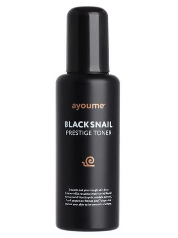 AYOUME BLACK SNAIL PRESTIGE TONER  Тонер с муцином черной улитки 150мл