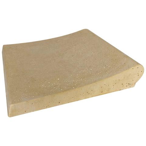 Копинговый камень Carobbio Expo 30x31,5 см, песочный / 24496