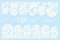 Слайдер наклейки Arti for you цвет белый №W6