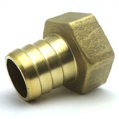Штуцер латунный 1/2 В  12 мм.