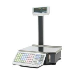 Купить Весы с печатью этикеток ШТРИХ-ПРИНТ M 15-2.5 Д1И1 (v.4.5), 15кг, 2гр, 350x310, ГОСТ Р 53228, со стойкой