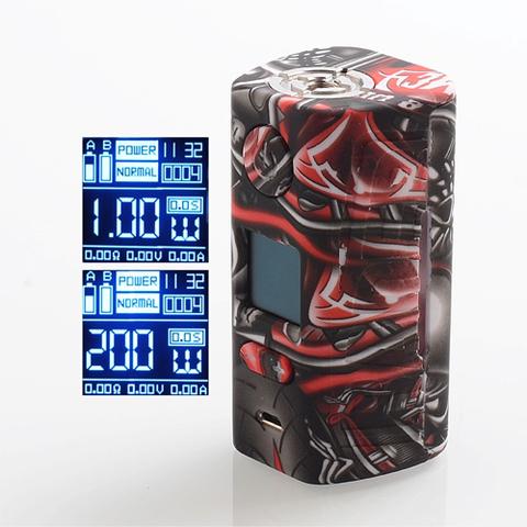Батарейный мод Rader Eco by Hugo Vapor 200W