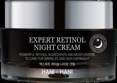 HANIxHANI Ночной эксперт-крем для лица с ретинолом Expert Retinol Night Cream 50 мл