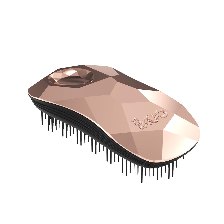 ikoo home - black - gold digger  (light pink)