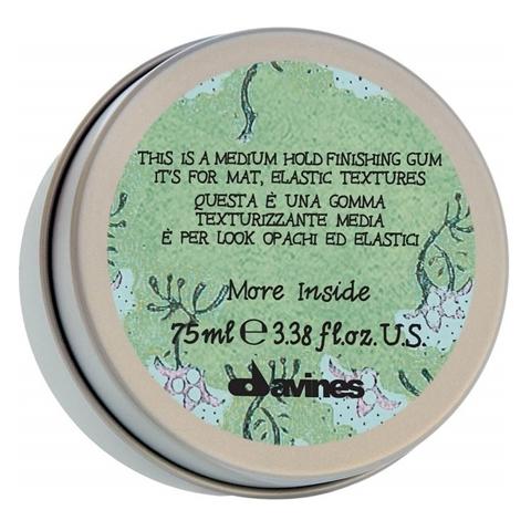 Davines More Inside: Эластик-гель для матовых подвижных текстур (Medium Hold Finishing Gum)