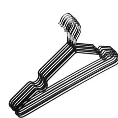 Вешалка-плечики ET_Attache.металл.ПВХ покрытие 10 шт/уп. Р.48-50 черный