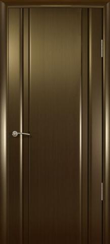 Дверь Шторм-2  (венге, глухая шпонированная), фабрика Океан