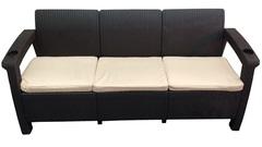Трехместный диван  из искусственного ротанга Yalta 3 Seat