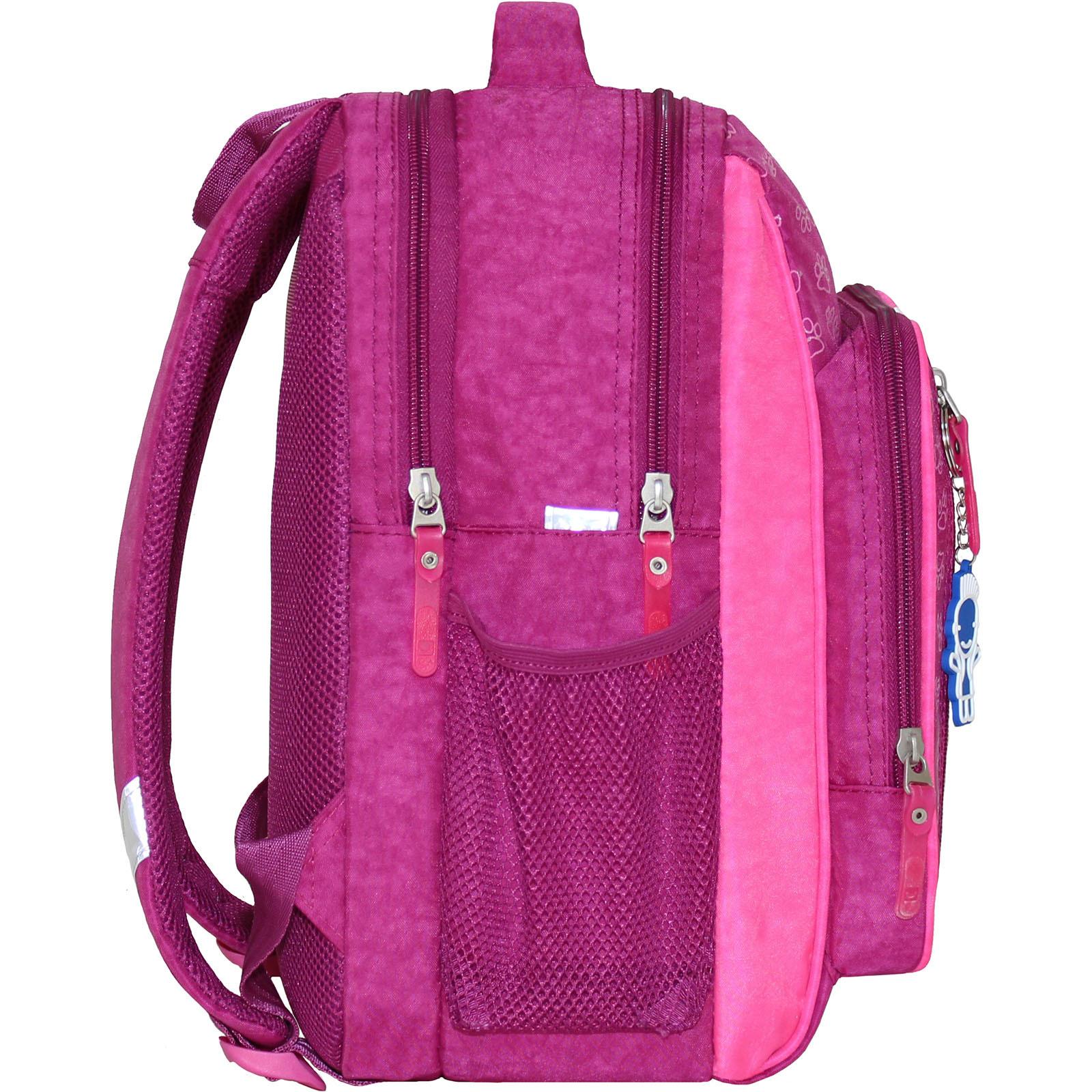 Рюкзак школьный Bagland Школьник 8 л. 143 малиновый 137д (0012870)