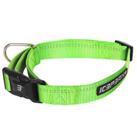 Ошейник неоновый зеленый ICEPEAK PET WINNER BASIC COLLAR