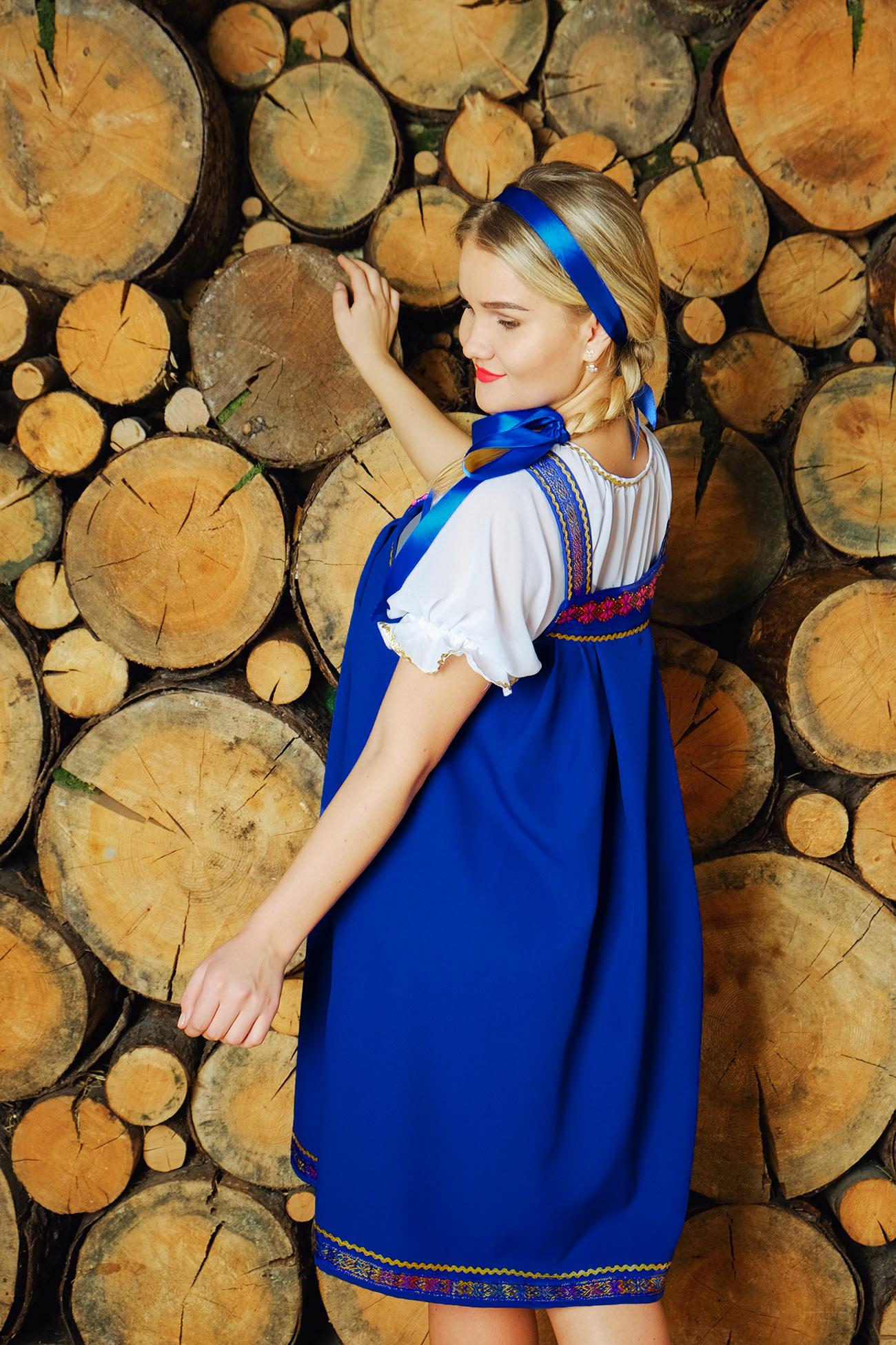 Костюм Русская красавица для выступлений