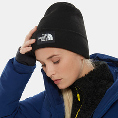 Шапка The North Face Dock Worker Recycled Beanie Tnf Black - 2