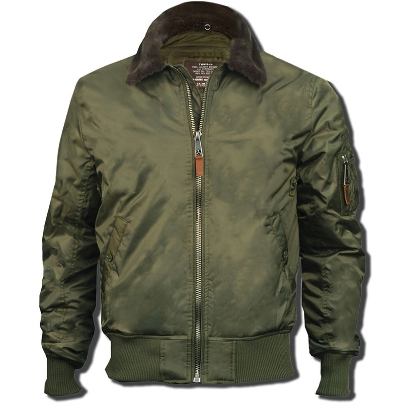 Куртка Top Gun B-15 Olive (Зеленая)