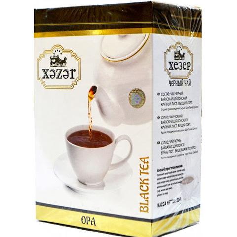 Çay \ Чай \ Black Tea Xezer 225 q