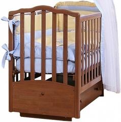 АБ 19.2  Жасмин кровать детская  маятниковая  поперечн