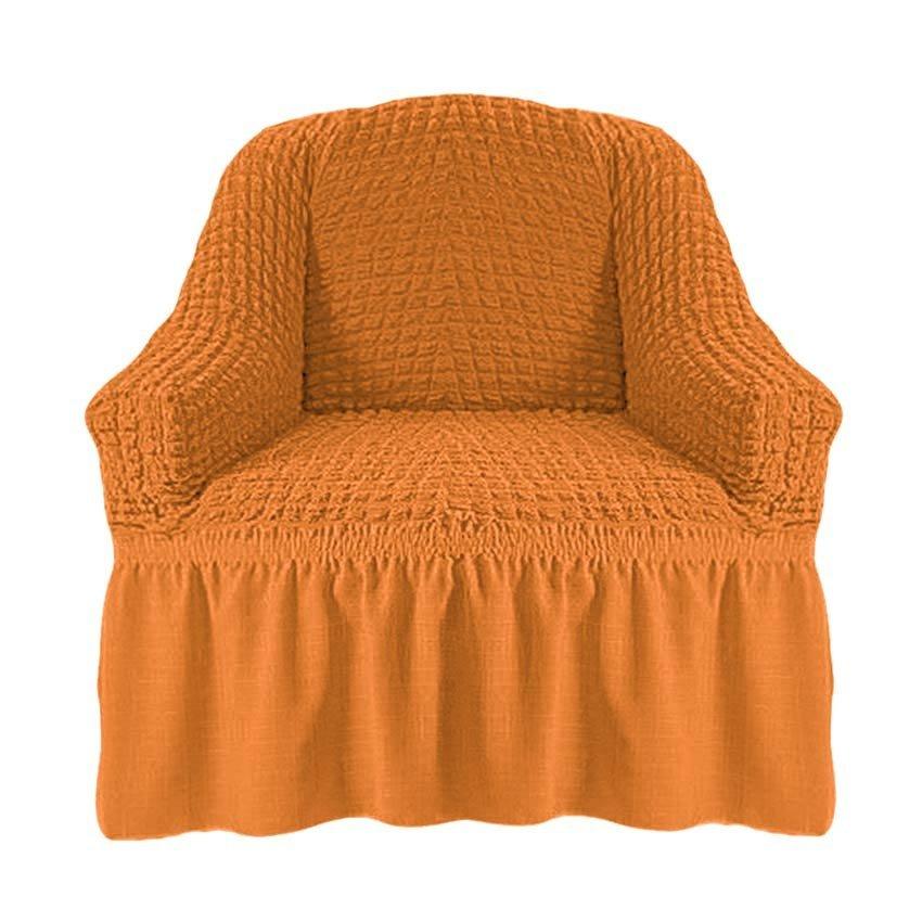 Чехол на кресло, рыжий