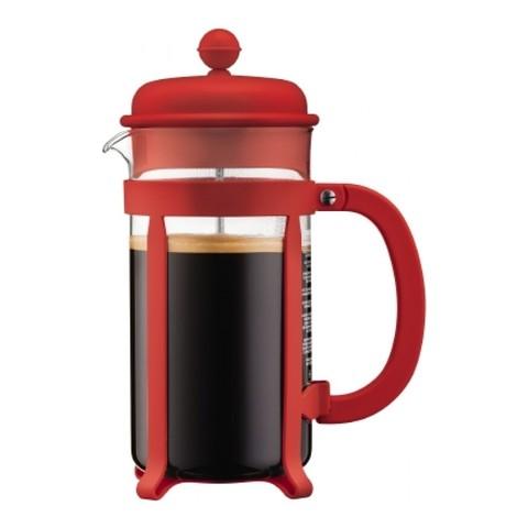 Френч-пресс Bodum Java (1 литр), красный