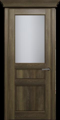 CLASSIC 532  Дуб Винтаж стекло Сатинато Белое