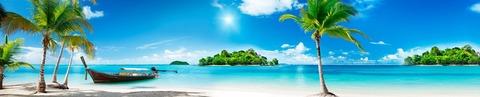 Солнечный пляж (фотопечать)