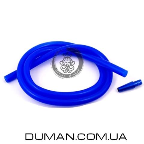 Cиликоновый шланг для кальяна синий