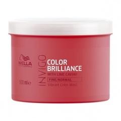 WELLA INVIGO COLOR BRILLIANCE Маска-уход для защиты цвета окрашенных нормальных и тонких волос 500 мл