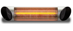 Карбоновый настенный обогреватель Vieto Blade S silver