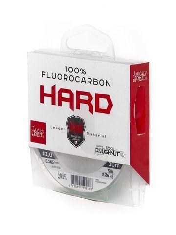Леска LUCKY JOHN Fluorocarbon Hard 30 м – 0,165 мм