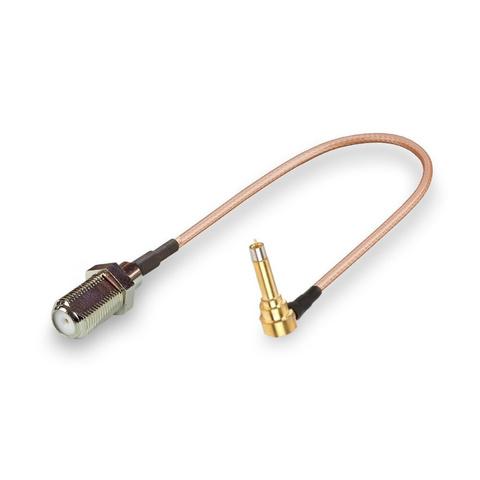 Антенный адаптер (пигтейл) F-female/MS156 (GDC) без видимого антенного разъема