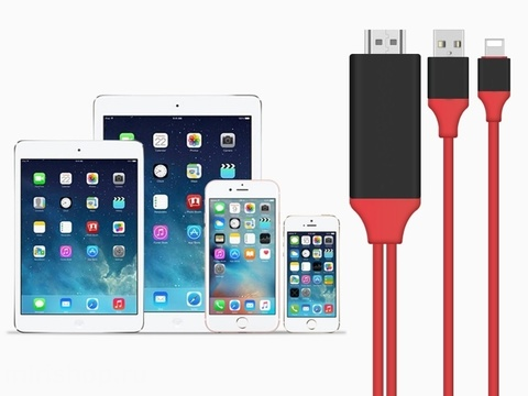 Адаптер-переходник Lightning to HDTV Cable Video & Charge Plug And Play