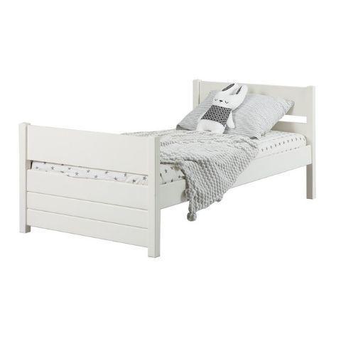 Детская кровать 160 на 80 Кидс 22 (скандик белый)