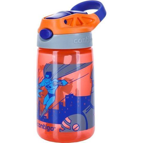 Бутылочка детская Contigo Gizmo Flip (0,42 литра), оранжевая