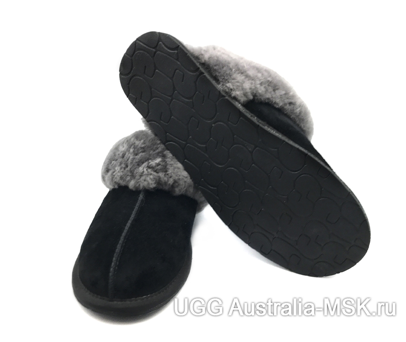 UGG Slipper Scufette  Black