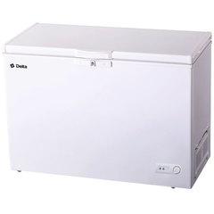 Ларь морозильный 327 л низкотемпературный DELTA D-327HKF, класс A, 3 корзины