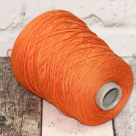 Хлопок 100% шнурок CASA DELL FILATO  оранжевый