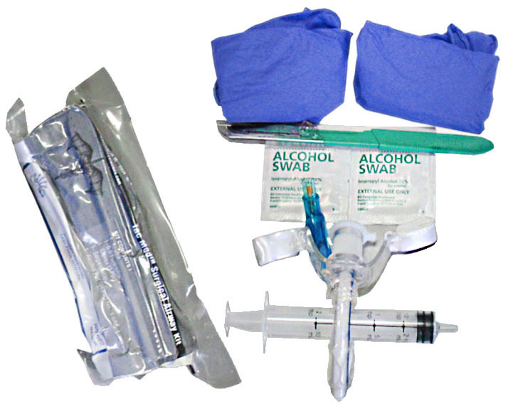 Набор для коникотомии Tac Med Surgical Airway Kit