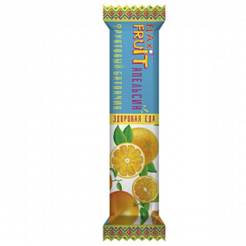 Флаксы фруктовые Апельсин, 30 гр. (Компас Здоровья)