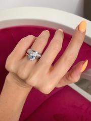 91657 - Кольцо из серебра с крутящейся серединой