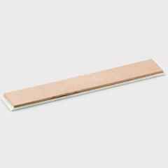 Алюминиевый бланк с кожей 150х25х6