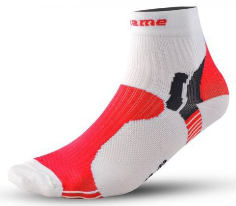 Носки Noname Multi 13, white/red