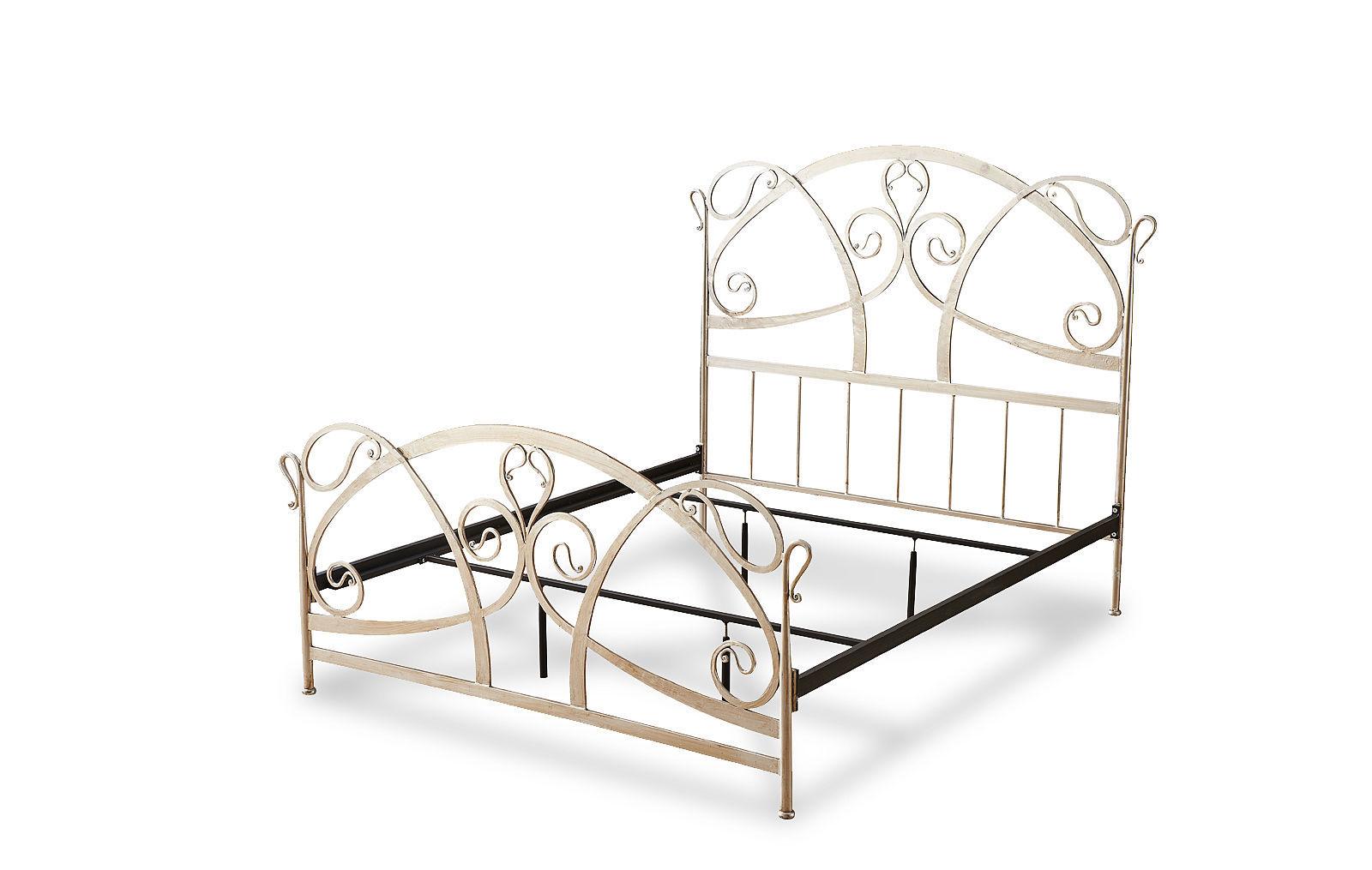 Кованая кровать TDF1606 GOLD (золото)