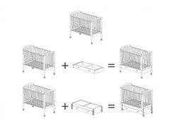Кровать детская Дени без ящика варианты