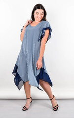Нівея. Літня сукня для великих розмірів. М'ята.