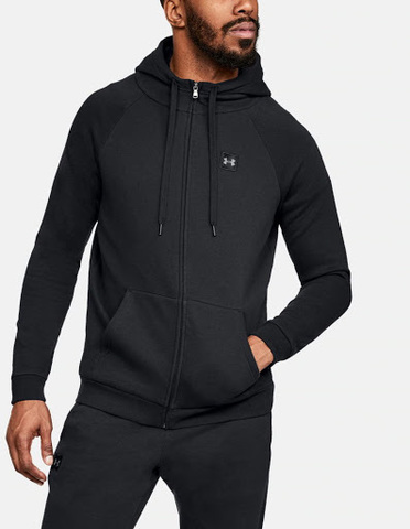 Толстовка Under Armour Rival Fleece Fz Hoody 1320737-001