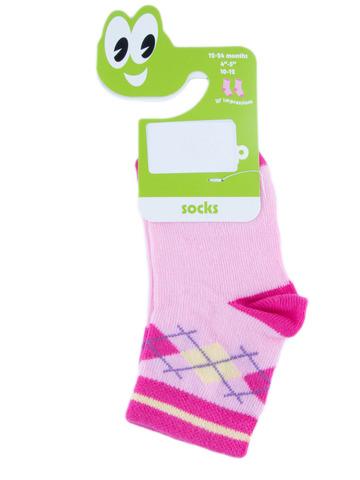 Носки для девочки Lap Cap 304020, цвет: розовый