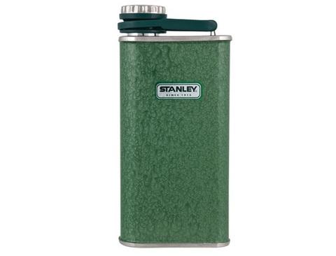 Картинка фляга для алкоголя Stanley classic pocket flask 0.23l зеленая - 1