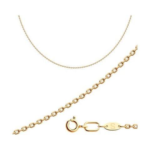 581030508 - Цепь из золота 585 пробы якорного плетения
