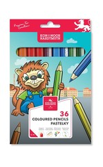 Карандаши цветные LION 3555, 36 цветов