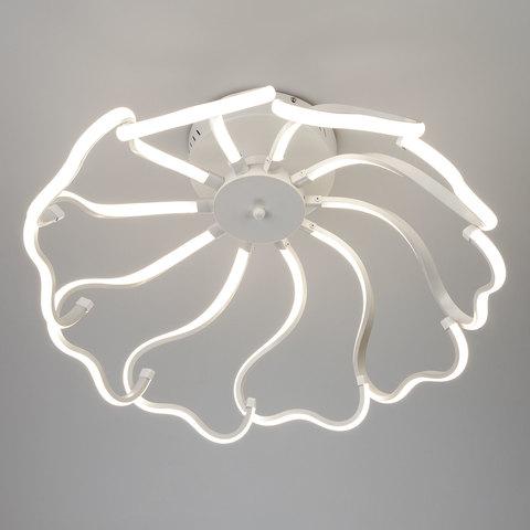 Светодиодный потолочный светильник EUROSVET 90095/10 белый без Пульта